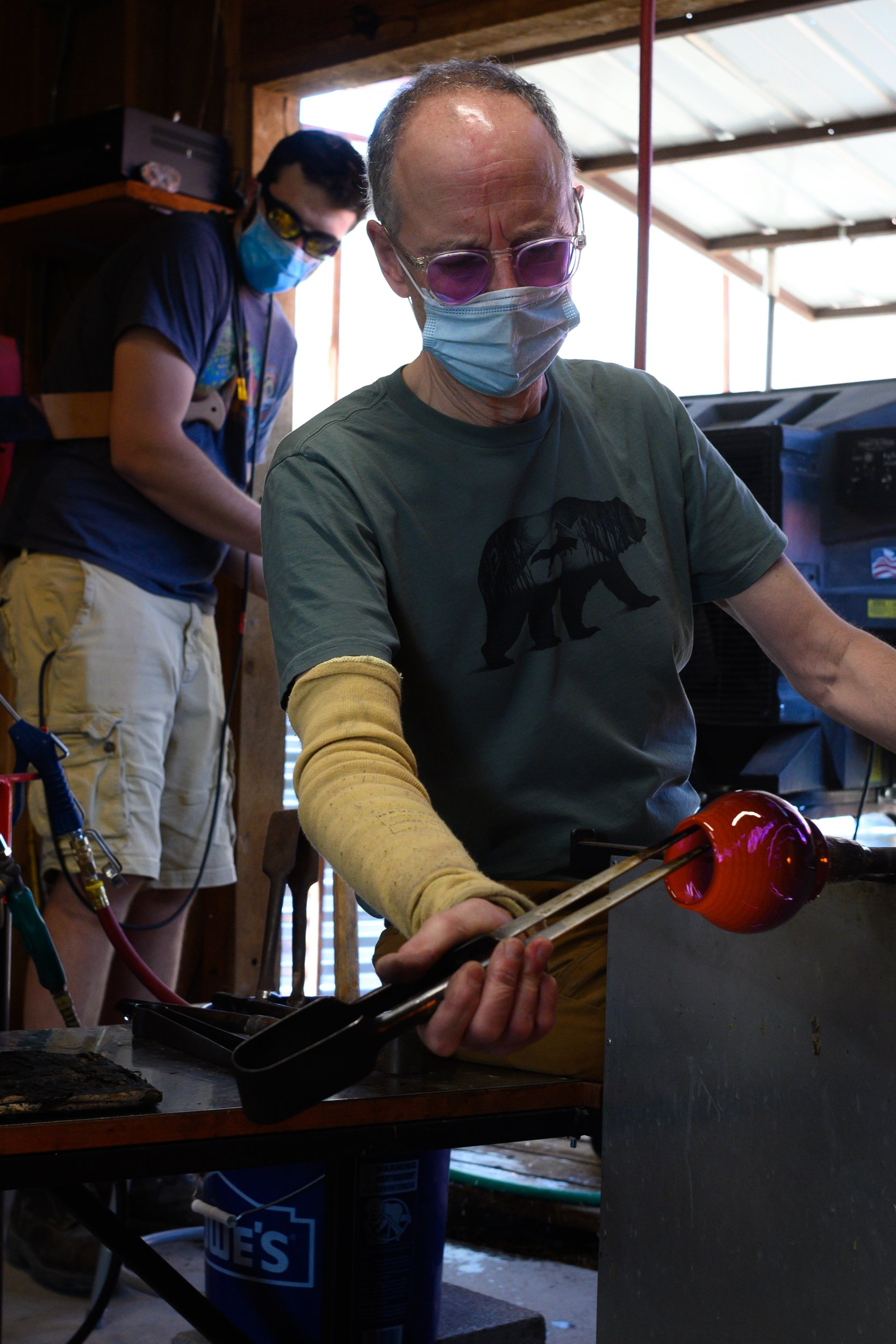 Glassblowing at CRMS refined by expertise thumbnail