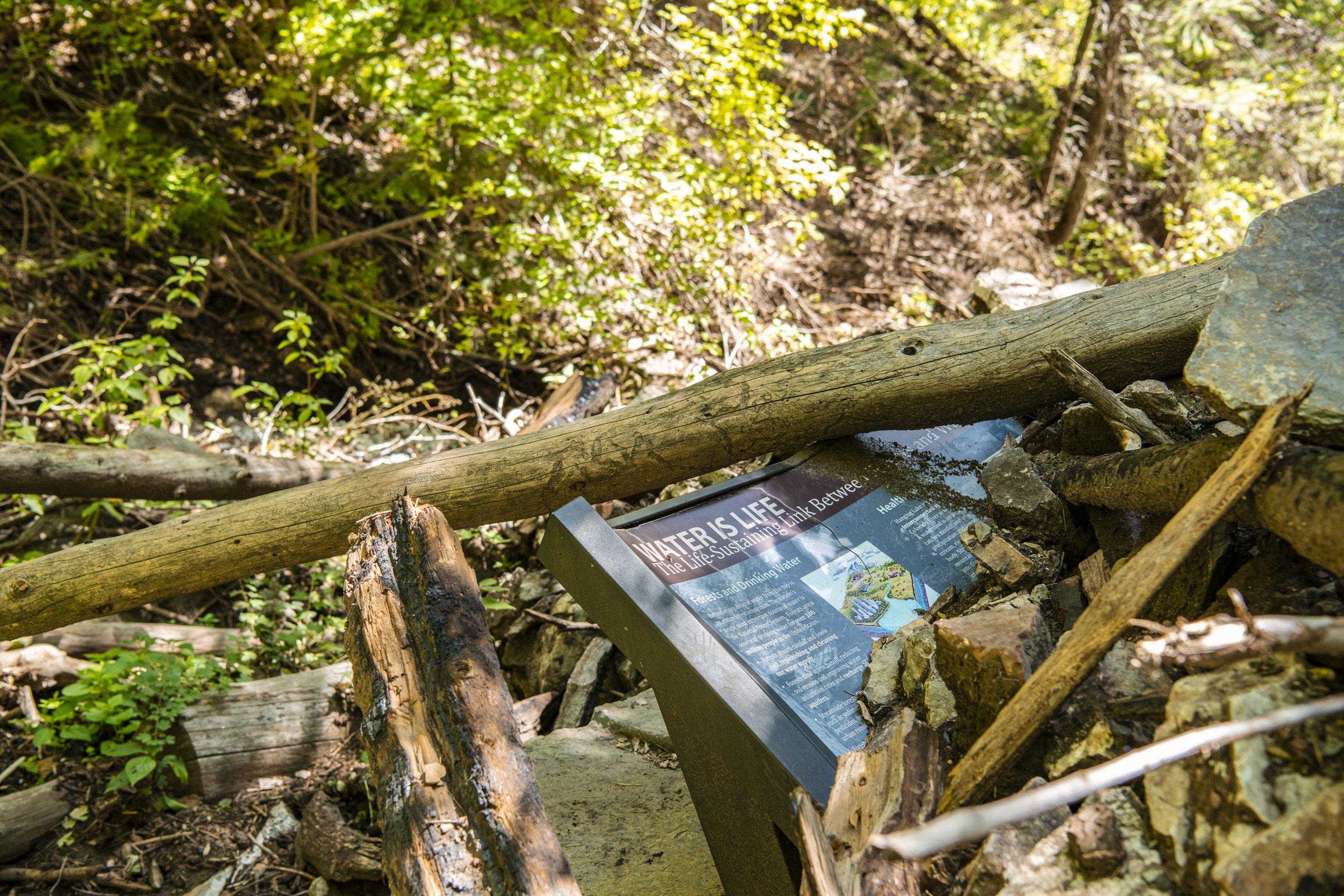 Hanging Lake trail damage closes public access thumbnail