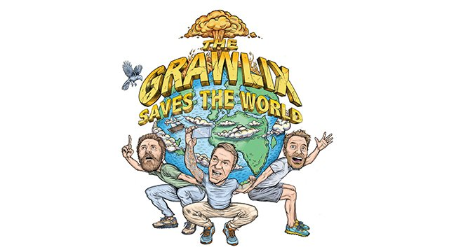 LIVE PODCAST TAPING – THE GRAWLIX SAVES THE WORLD thumbnail