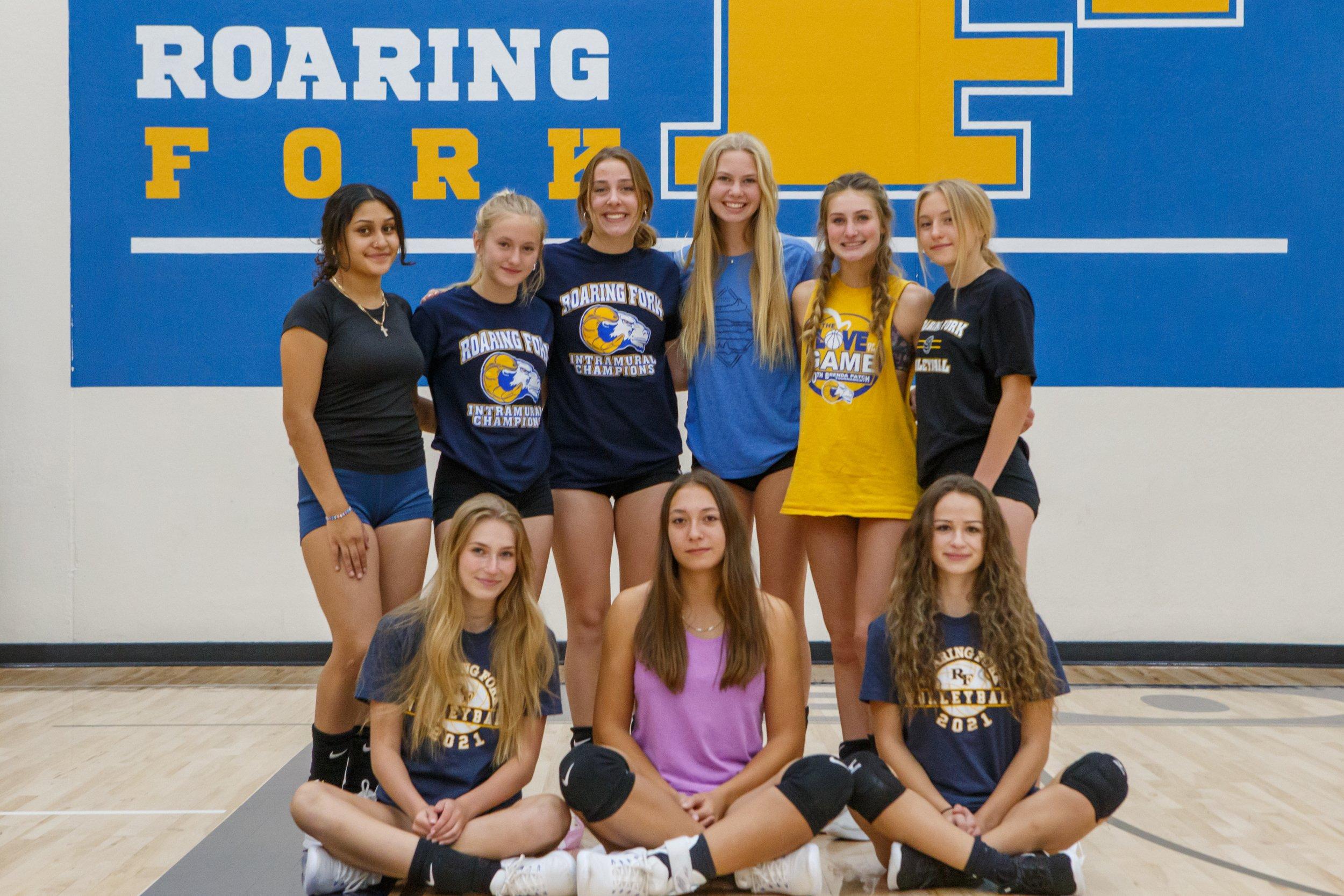 Rams seniors relish volleyball season thumbnail