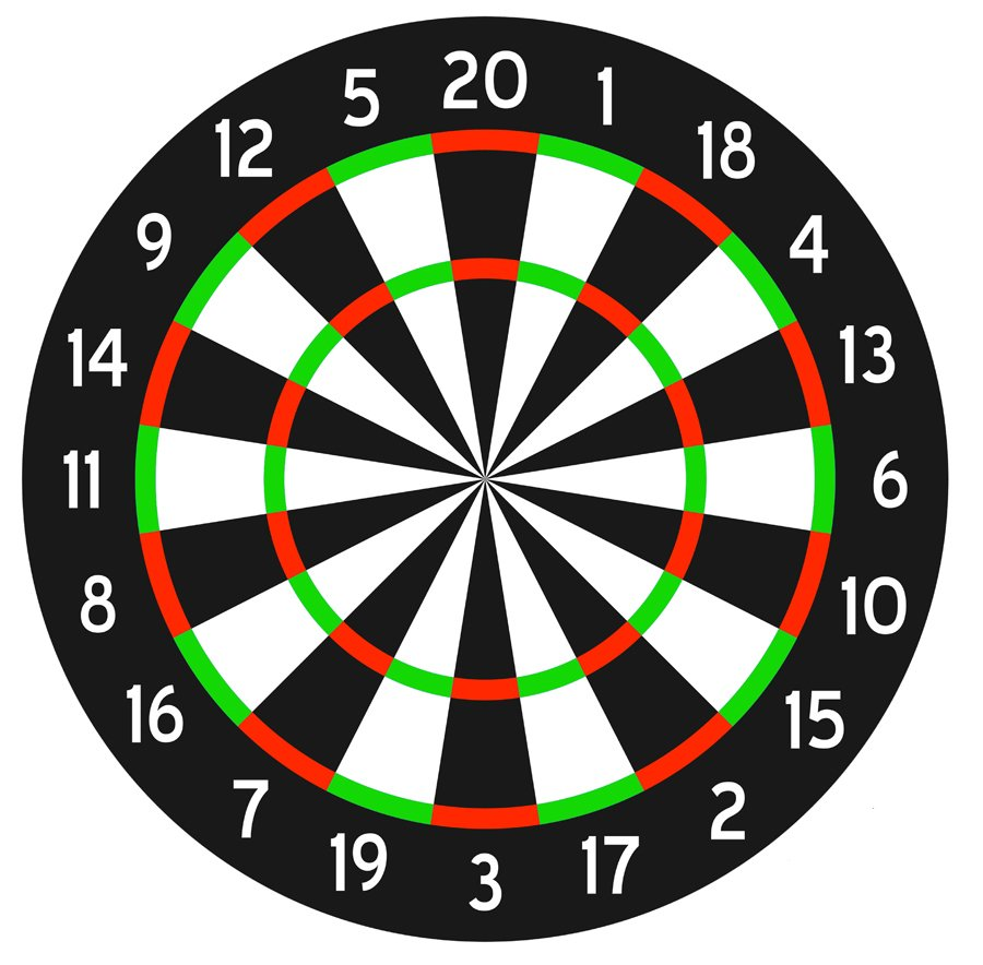 DM111 Dart Board thumbnail