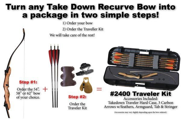 #2400 Traveler Bow Kit thumbnail
