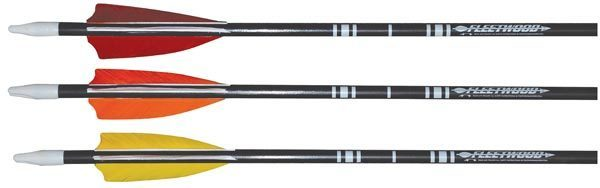 #6815 Fiber Glass Arrows with Feathers 6/Pack thumbnail