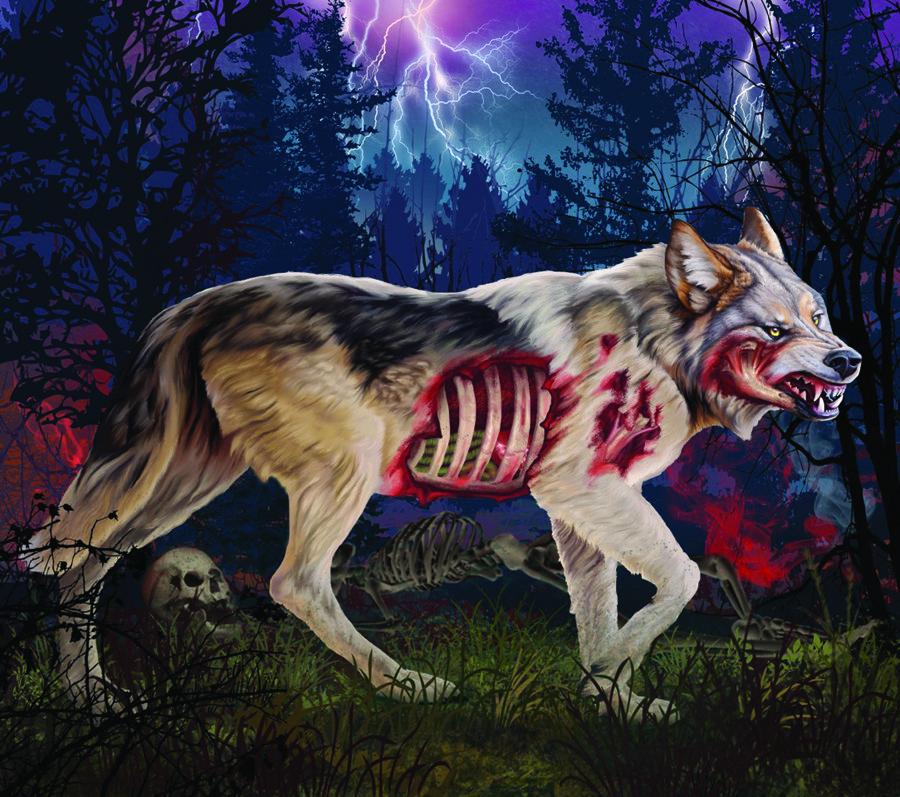 DM410 Zombie Wolf thumbnail