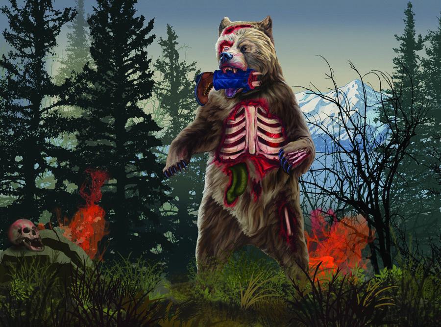 DM415 Zombie Bear thumbnail