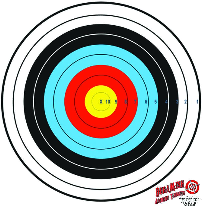 DM102 Dura Mesh Target Face 30″ (80cm) thumbnail