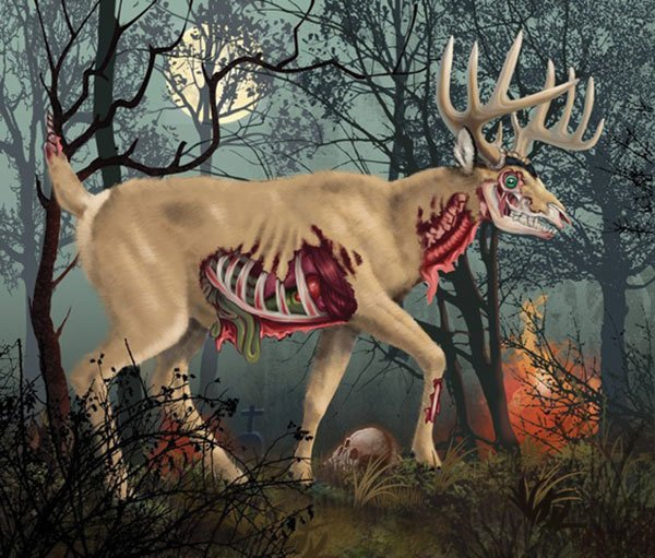 DM400 Zombie Deer thumbnail