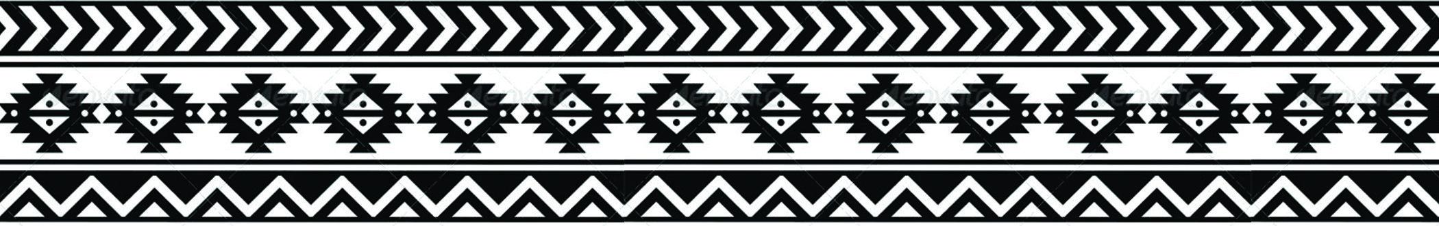 #AW624 7″ White Aztec thumbnail