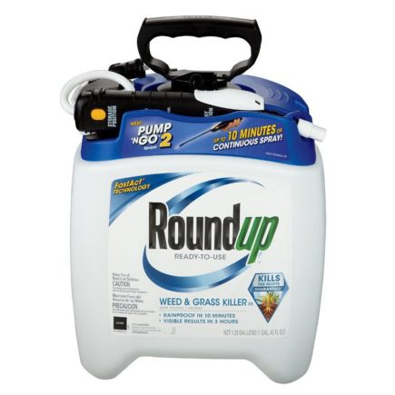 Roundup Ready to use Weed & Grass Killer III with Pump 'N Go.