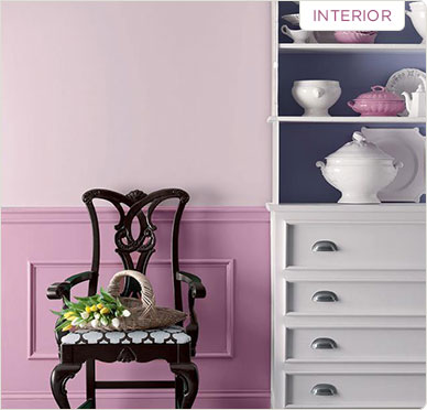 Valspar interior paint example
