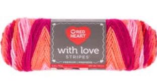 Red Heart Love Yarn width=