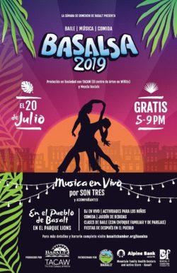 Basalsa 2019 poster - Espanol