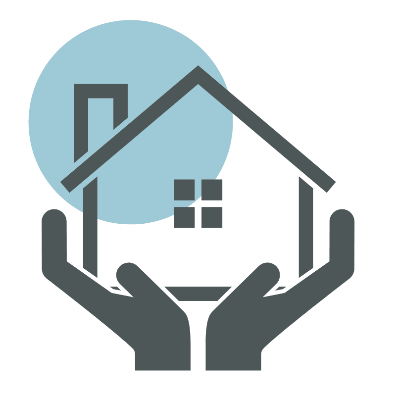 Safer At home icon