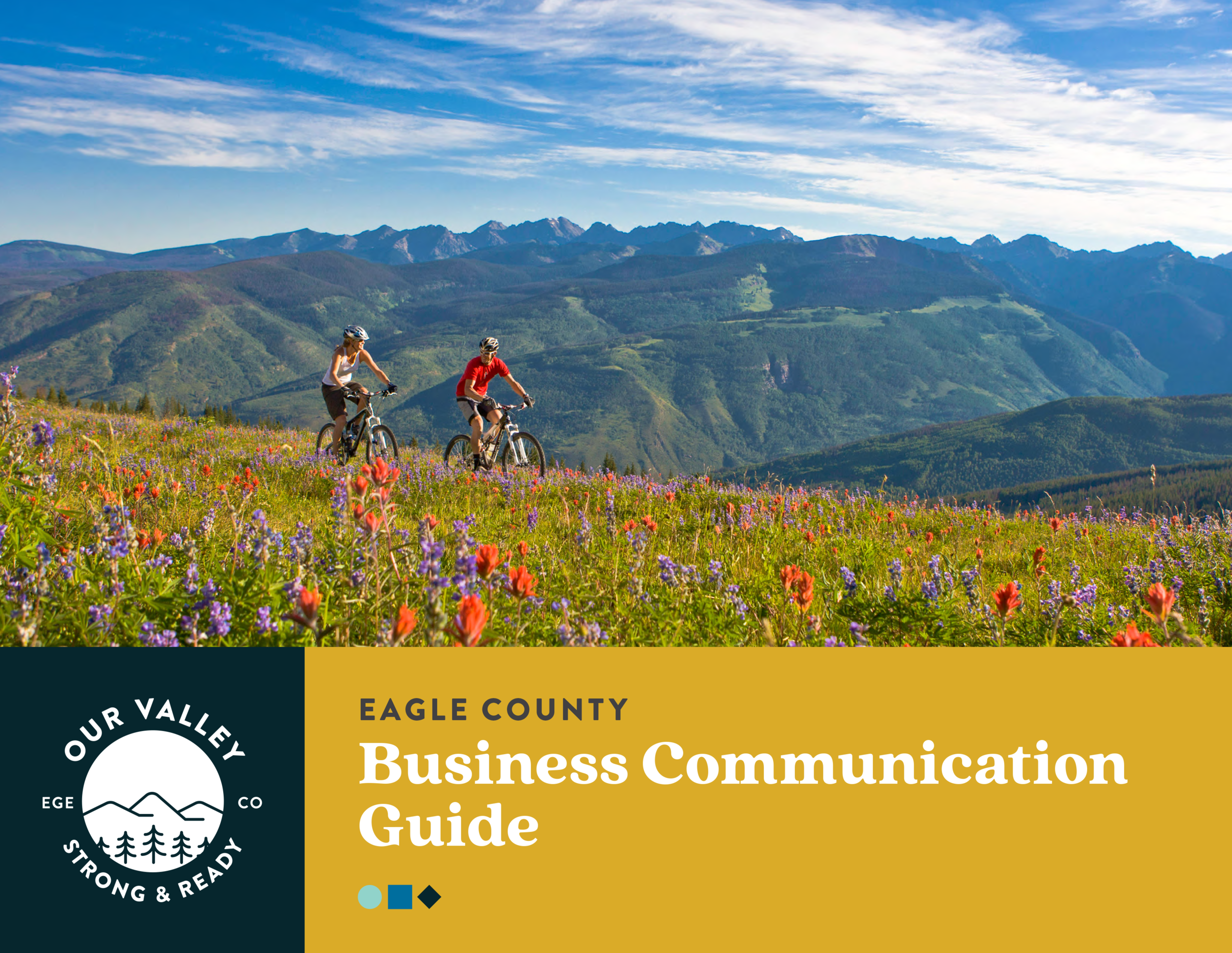 Eagle County Business Communication Guide cover