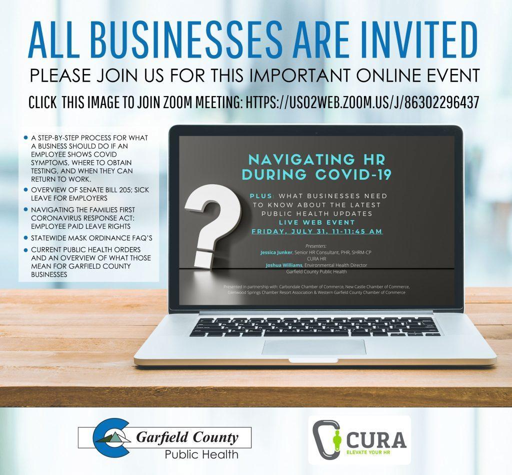 COVID HR GarCo webinar flyer