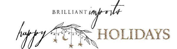 Brilliant Imports Holiday 2020 logo