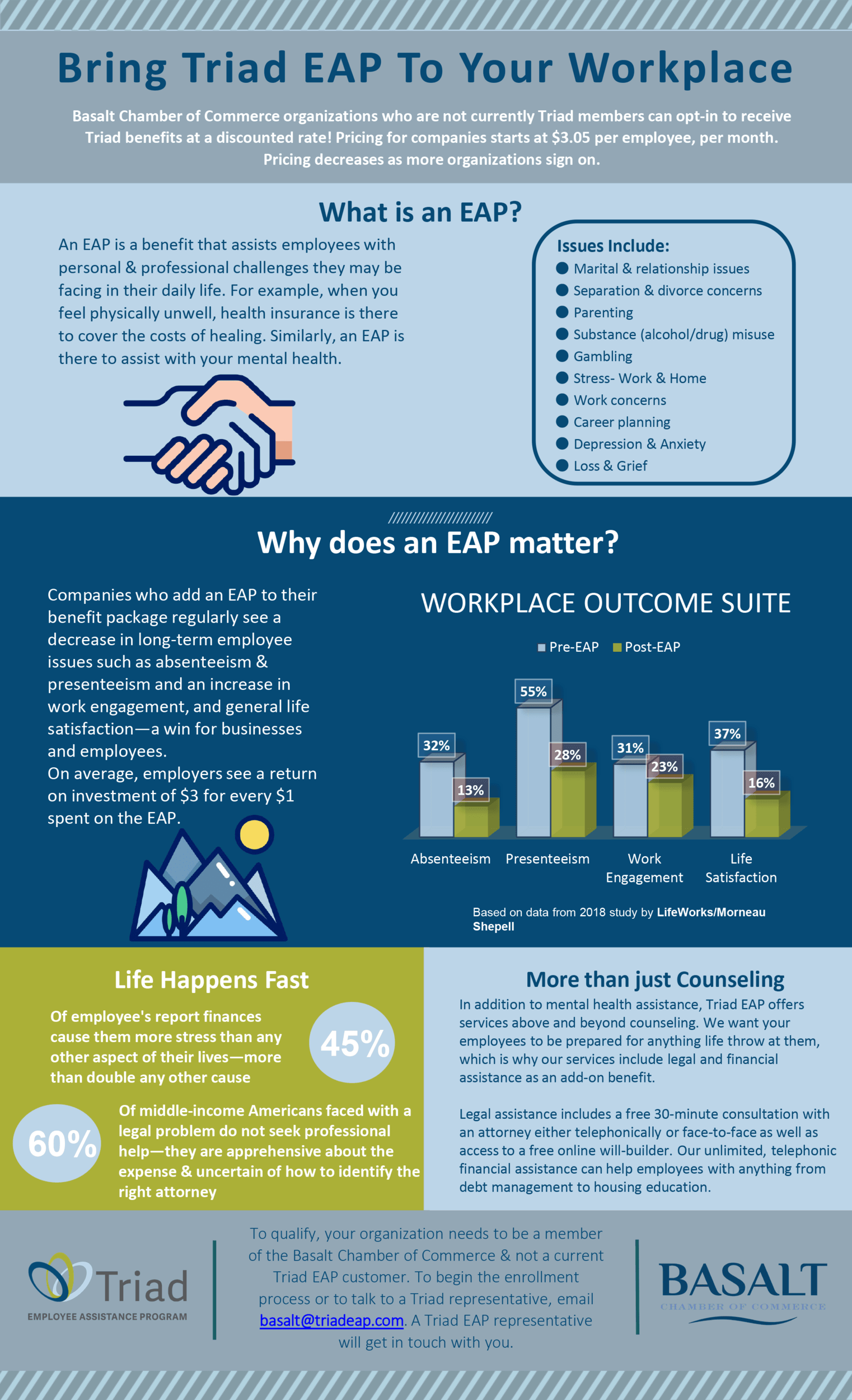 Triad EAP - What is an EAP infographic