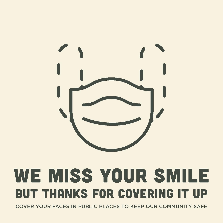EC Mask poster