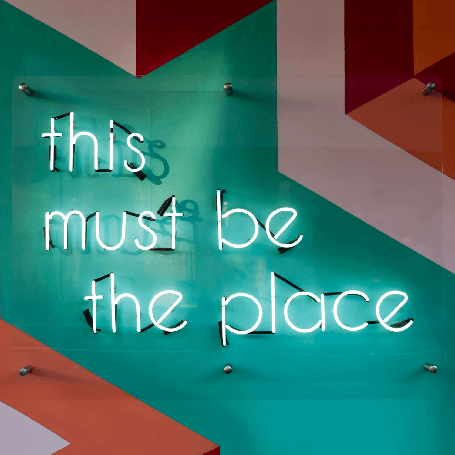 This is the place sign - Photo by Tim Mossholder, unsplash