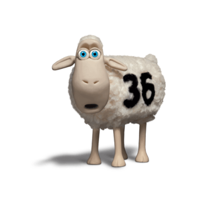 Serta Sheep 36 - The Dad