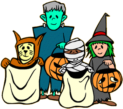 HALLOWEEN-TRICK-OR-TREATERS