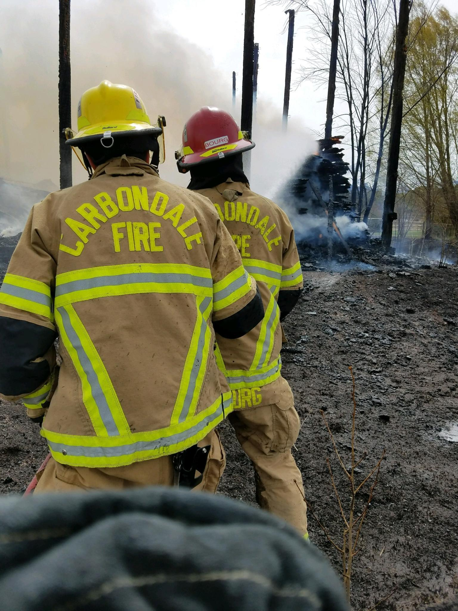 Barn Fire on Goose Creek Lane thumbnail
