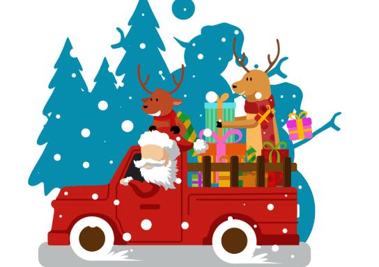 Ho Ho Ho! Santa's Holly Jolly Truck-Mas Trip thumbnail