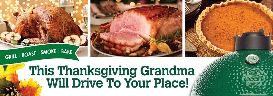 Thanksgiving on the Big Green Egg thumbnail