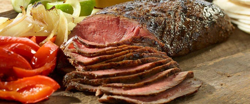 Flat Iron Steak Fajitas thumbnail