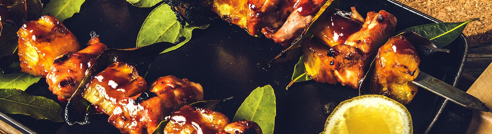 BBQ Chicken and Pineapple Skewers thumbnail