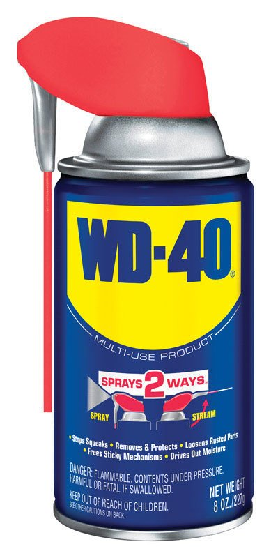 WD-40 Smart Straw General Purpose Lubricant Spray 8 0z. thumbnail