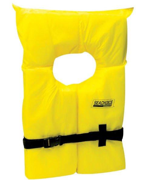 Seachoice XL Yellow Life Jacket thumbnail