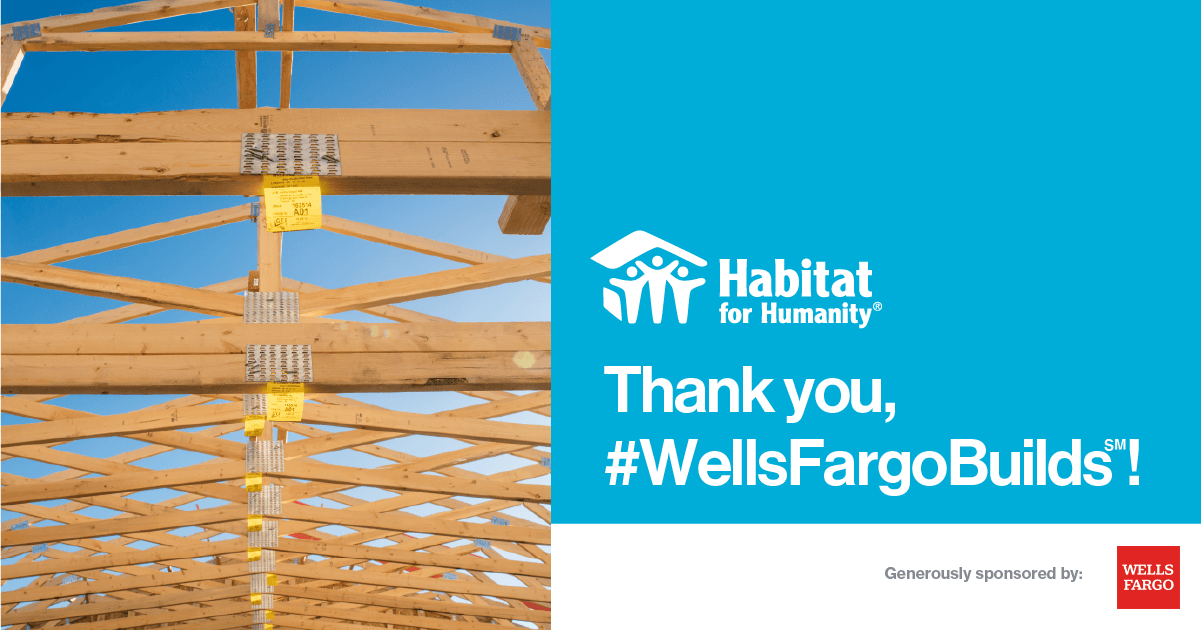 Wells Fargo Foundation Supports Affordable Homeownership thumbnail