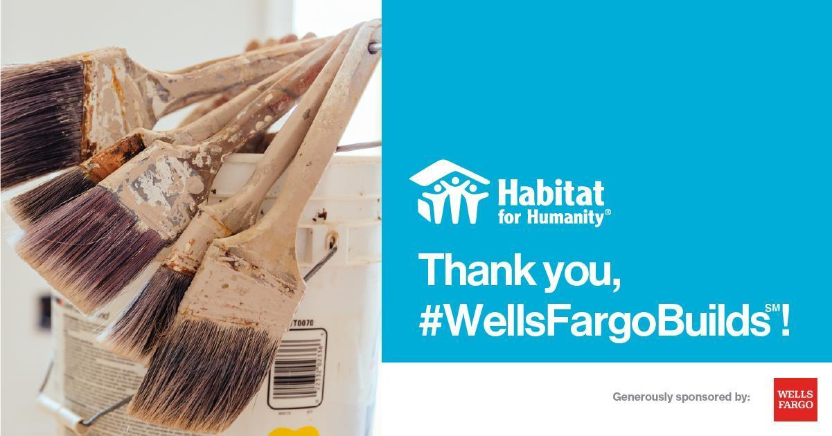 Wells Fargo donates $15,000 to Loveland Habitat for Humanity to help more families in Loveland access decent, affordable housing thumbnail