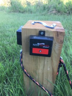 Installing Nite Guard Solar Lights to Keep Wild Boars Away