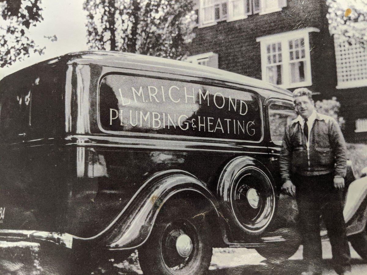 Old Richmond Hardware Vehicle