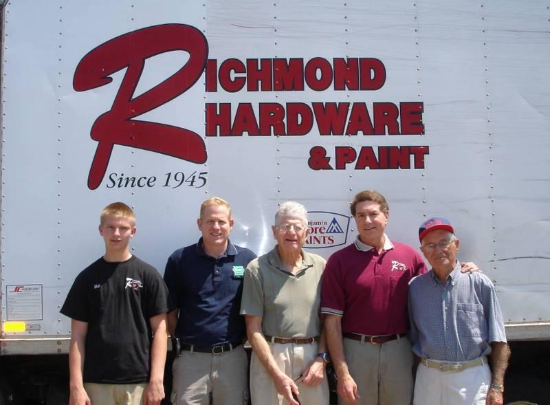 Richmond team in 2010