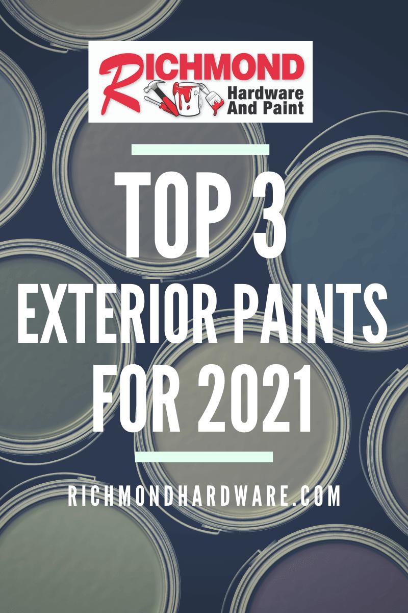 Richmond Hardware's  Top 3 Exterior Benjamin Moore Paints for 2021 thumbnail