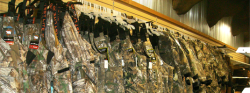Camo/hunting Clothing display