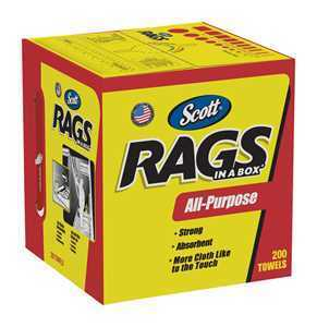 Scott Rags in a Box Paper Cleaning Cloth thumbnail