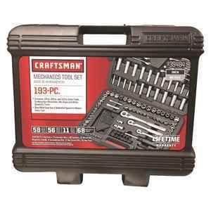 Craftsman® 193 Pc. Mechanic's Tool Set thumbnail