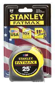 Stanley® FatMax® 25′ x 1-1/4″ Tape Rule thumbnail