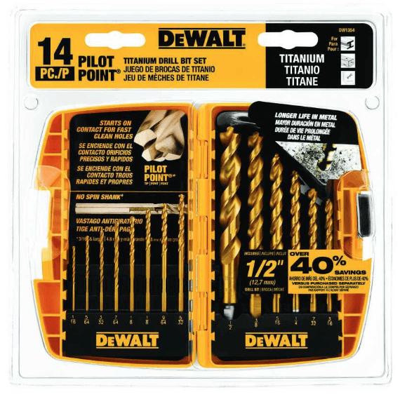DeWalt Drill Bit Set thumbnail