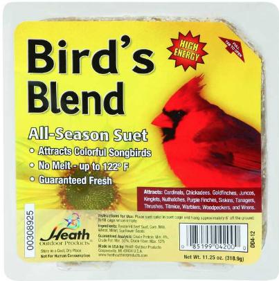 Bird's Blend Suet thumbnail