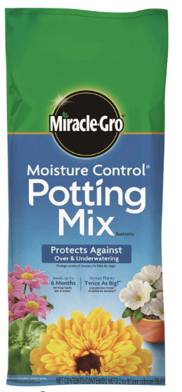 Miracle-Gro Moisture Control Potting Mix thumbnail