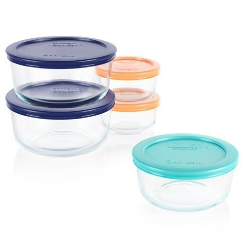 Pyrex 5 Pc. Food Storage Container Set thumbnail
