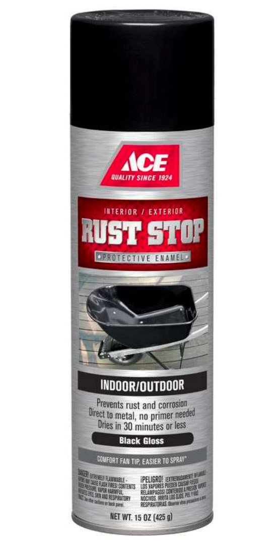 Rust Stop Spray Paint