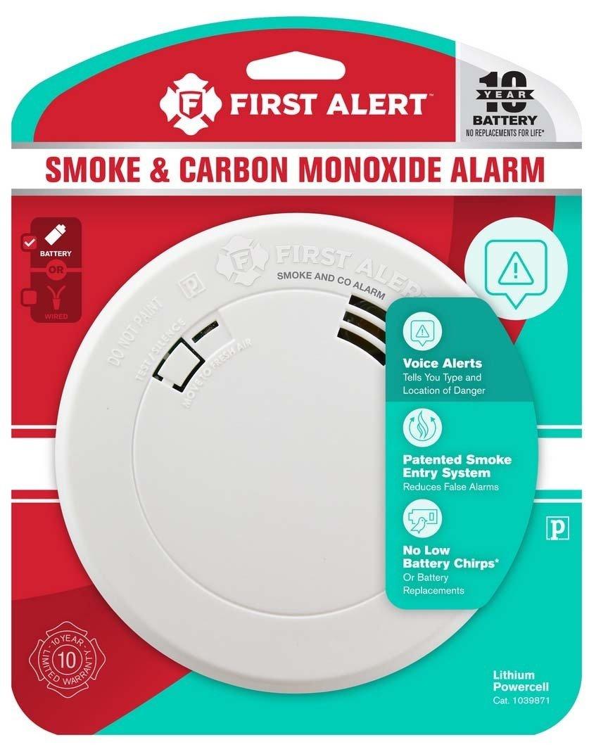 carbond monoxide and smoke detector