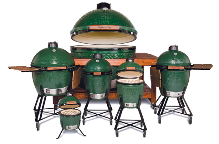 big-green-egg-lineup
