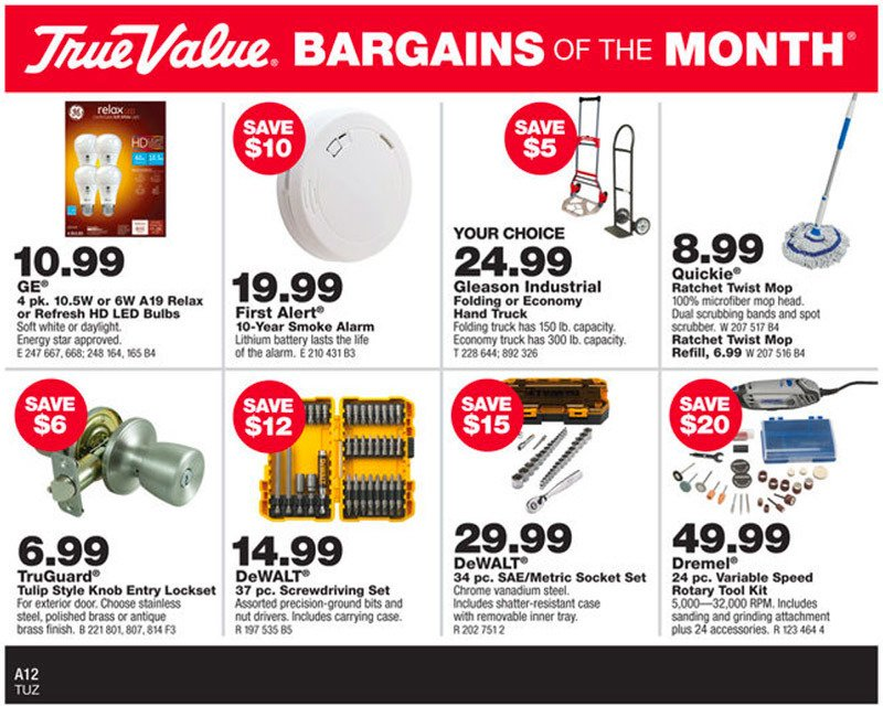 February Bargains of the Month